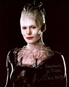 Sci-Fi Blast From The Past - Alice Krige (Star Trek: First Contact & Star Trek: Voyager) Star Trek Borg, Star Wars, Aliens, Queen Alice, Star Trek Characters, Female Characters, Star Trek Universe, Star Trek Voyager, Entj