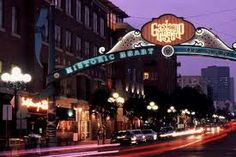 Gas Lamp District, San Diego  Fun Place but like most places I've been in Cali - really not for me