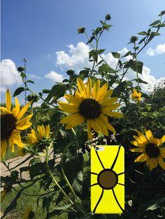 "Sunflowers bring ""HaPpY!"" wherever they go even on the dreariest of days @ ARTwithDOG.com   #sunflowers #sunshine #summer #autumn #backtoschool #travel #roadtrip #summer #fall #flower"