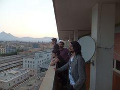 Non ci sono migliori facce da Miraggi di queste! Sguardo all'orizzonte che plana su Palermo.