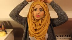 How To Style Your INAYAH Scarf | Hijab Tutorial #3