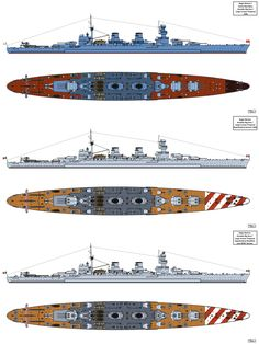I've been asked by commander Shas'o'Frosty to draw this warship with alternative versions for the Italian Navy. Ansaldo Big Gun Cruiser Design for Russia Military Weapons, Military Art, New Battleship, Italian Empire, Steampunk Characters, Naval History, Boat Stuff, Big Guns, Armada