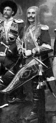 Circassian Men............................chain mail?