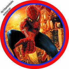 Homem Aranha – Kit Completo Digital grátis com molduras para convites, rótulos… Spiderman Theme, Amazing Spiderman, Frozen Paper Dolls, Happy 4th Birthday, Bottle Cap Images, Fiesta Party, Party Themes, Vinyl Decals, Diy And Crafts