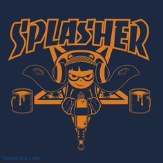 SPLASHER By manospd, today at The Yetee!