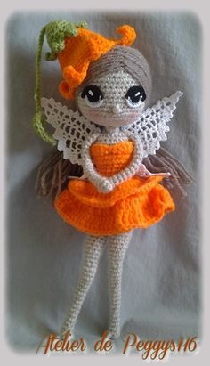Fée au crochet Crochet doll