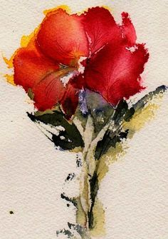 Just Bloomed Painting - Just Bloomed Fine Art Print - Anne Duke