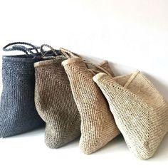 Bag Women, Crochet Market Bag, Crochet Diy, Crochet Tutorials, Knitted Bags, Maxis, Handmade Bags, Free Knitting, Knitting Ideas