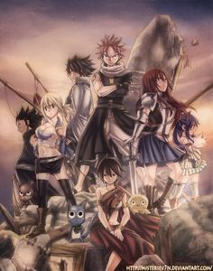 Fairy Tail Movie Poster by MisterSev7n.deviantart.com