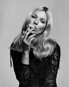 Kate Moss, Vogue Paris.