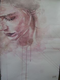 Buy Tenderness, Watercolour by Boyana Petkova on Artfinder. Watercolor Portraits, Watercolor Paintings, Watercolour, Impressionist, Lovers Art, Artwork, Image, Faces, People