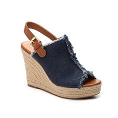 Womens Indigo Rd Harris Wedge Sandal Beige