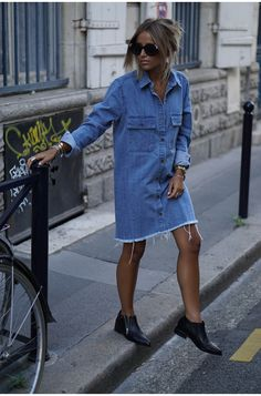 Camille Wearing Denim.