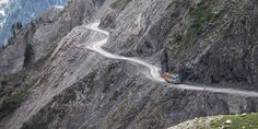 """From the UK's """"Widow Maker"""" to Iraq's """"Highway of Death,"""" these are the most dangerous roads in the world. Highway Of Death, Yungas Road, Karakoram Highway, Dangerous Roads, Canyon Road, Road Conditions, Italy Tours, Northern Italy, La Paz"""