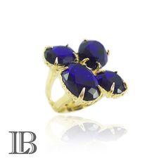 Anel lindo folheado a ouro 18k só R$ 34,98, na loja www.leticiabidigaray.com