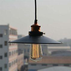 Vintage Industrial  Copper Ceiling Lamp Light Pendant Lighting Edison Bulb DIY
