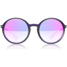 Ray-Ban 4222 Lily Sunglasses : 4222 Lily Shot Violet Rubber 4222 : US (6.835 RUB) ❤ liked on Polyvore featuring accessories, eyewear, sunglasses, ray ban sunnies, rubber sunglasses, ray ban sunglasses, ray ban glasses and ray ban eyewear