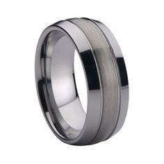 Tungsten Ring statement jewelry  RRP: Price: $69.00