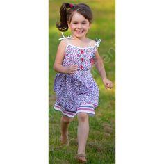 Dziewczęca sukieneczka Zaoka - urocza!