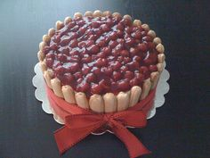 Lady fingers cheesecake