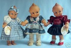 Collectible Kewpie Dolls by Jesco...The most recent big step in the century-long history of Kewpie Dolls occurred in 1983, when the Jesco Toy Company obtained the rights to begin manufacturing high-quality, limited edition and collectible Kewpie Dolls.