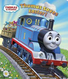 Thomas Saves Easter! (Thomas & Friends) (Glitter Board Book) by Rev. W. Awdry, http://www.amazon.com/dp/0307981584/ref=cm_sw_r_pi_dp_SxHzqb1CVAMBF