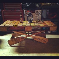 another bear coffee table, but this one has the oval glass