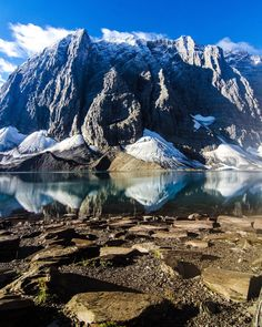 Floe Lake in British Columbia by Jack Harrison