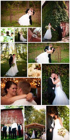 Rustic Wedding * Barn Wedding * Aqua and Red Wedding
