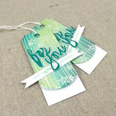 For You Tag Set by Lizzie Jones for Papertrey Ink (October 2015)