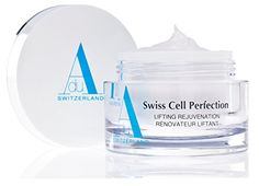 Swiss Cell Perfection Lifting Rejuvenation with Swiss Apple Stem Cells  Apple  Argan Stem Cell AntiAging Cream with Hyaluronic Acid  Swiss Glacier Water  Visibly Reduces Wrinkles  Fine Lines  MADE IN SWITZERLAND ** Read more  at the image link. (Note:Amazon affiliate link)