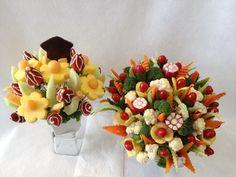 veggie edible food bouquets