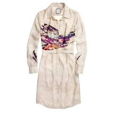 Shirtdress Graphic Amalfi Sunset, now featured on Fab.