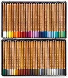 Cretacolor Fine Art Pastel Pencil Sets Set of 72 Pastel Pencils, Colored Pencils, Professional Art Supplies, Art Pastel, Stabilo Boss, Cute School Supplies, My Art Studio, Pen Sets, Drawing Tools