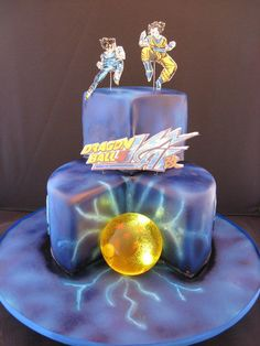 Image result for dragon ballz cake toppers Dragon ballz