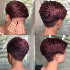 25 ideas for short pixie hairstyles for women frisuren frauen frisuren männer hair hair women Short Pixie Haircuts, Pixie Hairstyles, Short Hairstyles For Women, Hairstyles 2018, Red Pixie Haircut, Curly Pixie, Haircut Short, Curly Short, Girl Haircuts