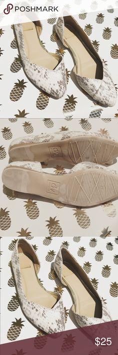 Dolce Vida Shoes Dolce Vida Snake  🐍 Print Shoes gently used. Dolce Vita Shoes