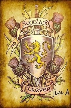 Saved by Celtic Dragon. Scottish Gaelic, Scottish Thistle, Scottish Clans, Scottish Highlands, Scotland History, Scotland Uk, England And Scotland, Scotland Travel, Celtic Art
