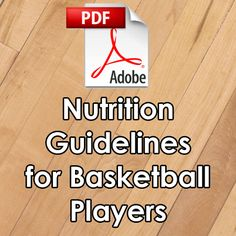 Nutrition Guidelines for Basketball Players, I have coupon codes