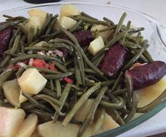 Recette Haricots Verts avec Saucisses et Pommes de terre par Nicolasetpauline90 - recette de la catégorie Plat principal - divers