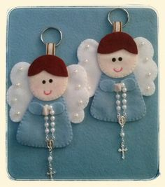 Best 12 And I have a soul … Felt Diy, Felt Crafts, Diy And Crafts, Arts And Crafts, Christmas Sewing, Christmas Crafts, Christmas Ornaments, Angel Ornaments, Felt Ornaments