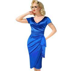 2016 Designer New Summer Women Short Sleeve Mid Calf 4XL Sashes Dress Plus Size Female Blue Dresses Lanon Vintage Floral Dress