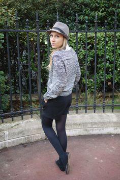Merci à Anne-France du blog My Fashion Outlet / Chapeau NAF NAF