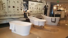 Freestanding bathtubs by Barclay & Victoria + Albert Kitchen And Bath Showroom, Victoria And Albert, Price Point, Bathtubs, Plumbing, Luxury, Bathtub, Bath Tub, Tub