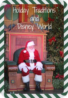 Make the most of your holiday visit to Walt Disney World by including holiday traditions in your trip ~ Holiday Traditions and #Disney World