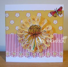 A Passion For Cards: Chrysanthemum and Doily Die