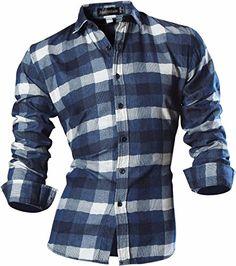 jeansian Men's Slim Plaid Button Down Long Sleeves Dress ... https://www.amazon.ca/dp/B01N5Y2XH3/ref=cm_sw_r_pi_dp_x_AcUMybRYSFSAD