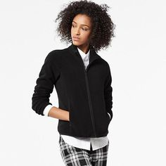 Women Fleece Long-Sleeve Full-Zip Jacket
