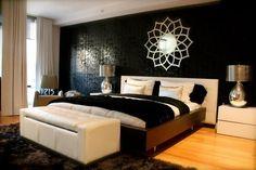 Sleek Bedroom by Busybee Design! contemporary bedroom