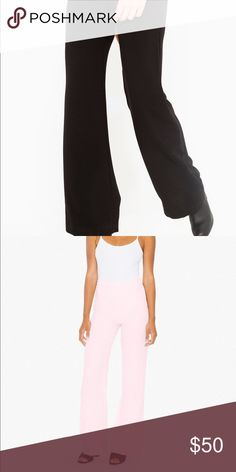 Crepe Charlie Pant (Worn Once) American Apparel Pants Boot Cut & Flare